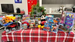 Virtual Crowd Media Toys For Tots Donation